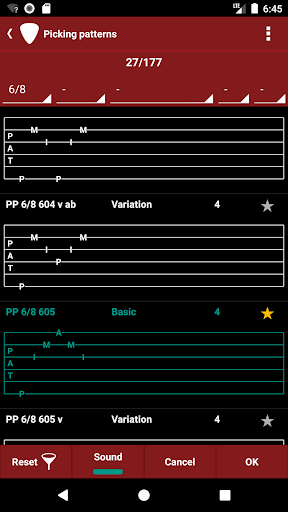 Screenshot for s.mart Pattern (finger picking trainer) in United States Play Store