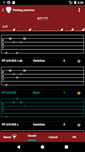 s.mart Pattern (finger picking trainer) Screenshot