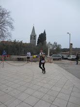 Photo: Prva utrka štinjanskim putevima utvrda ŠTINJAN ADRIFORT 27.12.2015. - ima i Štinjanaca - Antonio Chiavalon među prvima u cilju