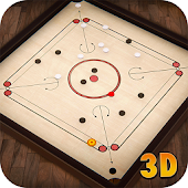 Carrom Multiplayer - 3D Carrom Board Game