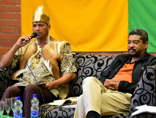 Khoisan chief Crawford Fraser and author Oscar van Heerden discuss being coloured in South Africa