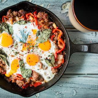 Spicy Italian Breakfast Skillet