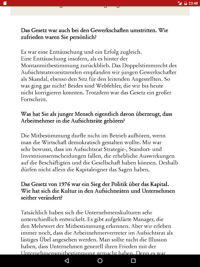 Magazin Mitbestimmung- screenshot