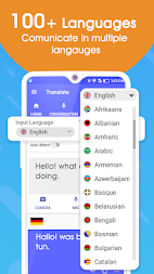 Translate All Language - Voice Text Translator APK screenshot thumbnail 1