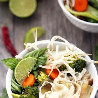 Healthy Vegetarian Pho