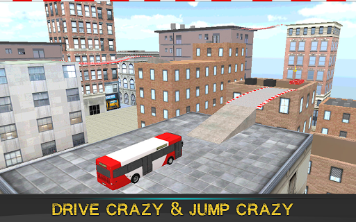 Crazy Bus Roof Simulator 3D