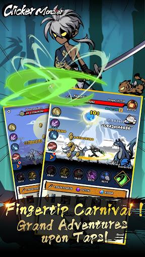 Télécharger Gratuit Clicker Monster: RPG Idle Game APK MOD (Astuce) screenshots 3