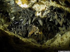 Photo: Cristalli scalenoedrici di calcite, Miniera di San Giovanni, Iglesias