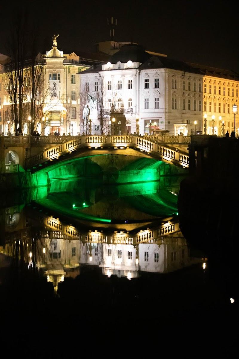 Lubiana by night di pierce