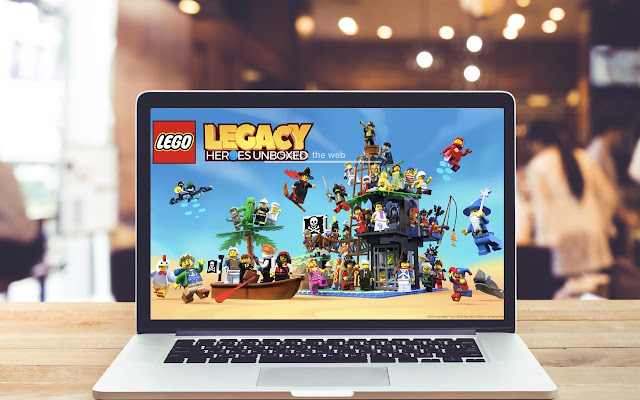 LEGO Legacy: Heroes Unboxed Wallpapers Theme