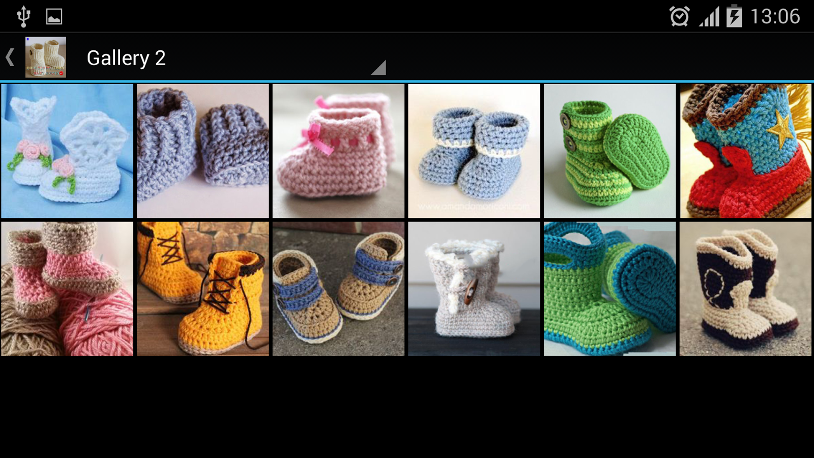 Crochet Pattern Baby Boots - Android Apps on Google Play