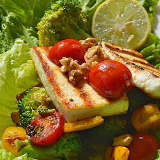 Grilled Paneer Salad.