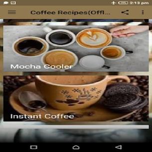 Coffee Recipes(Offline) 1