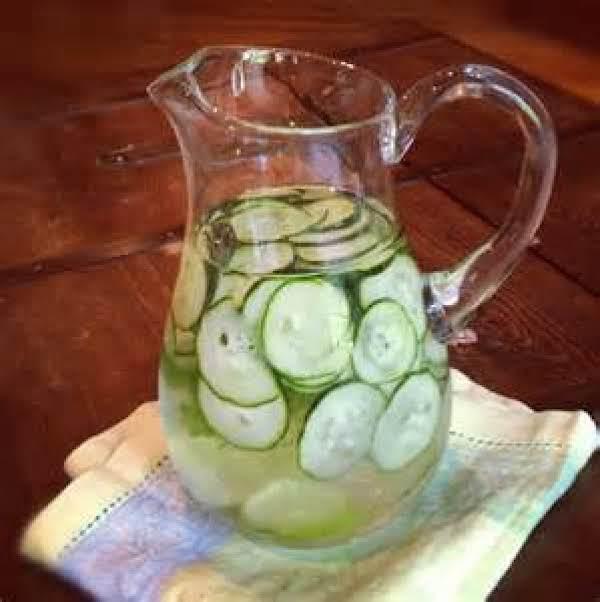 Sassy Water Recipe