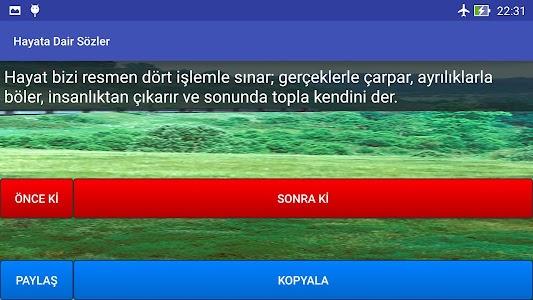 Hayata Dair Sözler screenshot 5