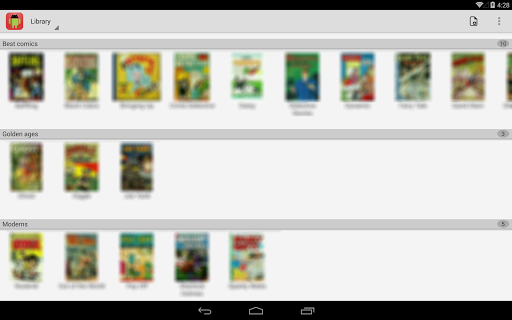 Comic Time Reader 1.2.7 screenshots 4