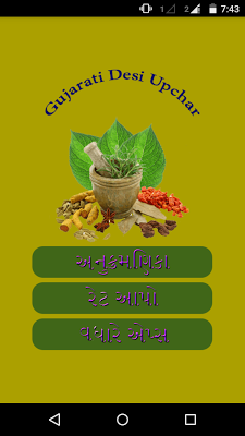 Gujarati Desi Upchar - screenshot