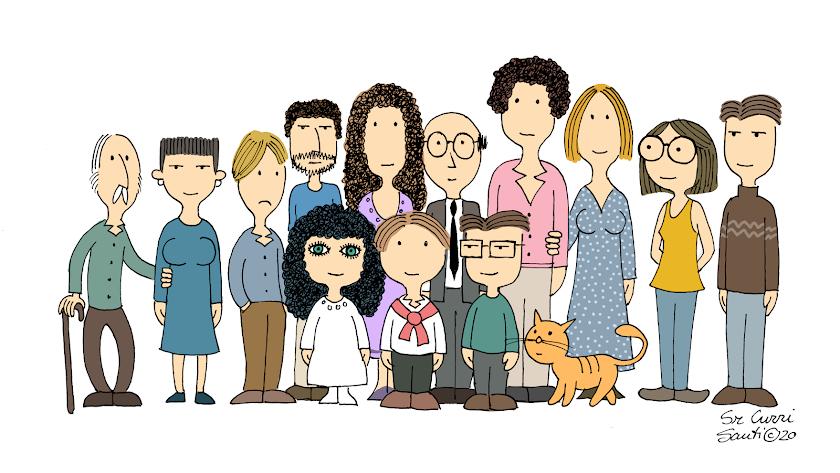 Gustavico y su peculiar familia ya se están ganando el cariño y la risa de muchos dibujantes gracias a la campaña en redes sociales de sus autores.