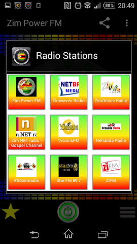 android Zimbabwe Radio Stations Screenshot 1