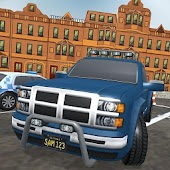 Off-Road 4x4 Truck Parking Game: Free Simulator