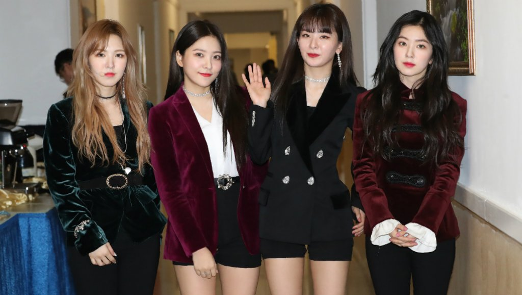 red velvet north korea 2