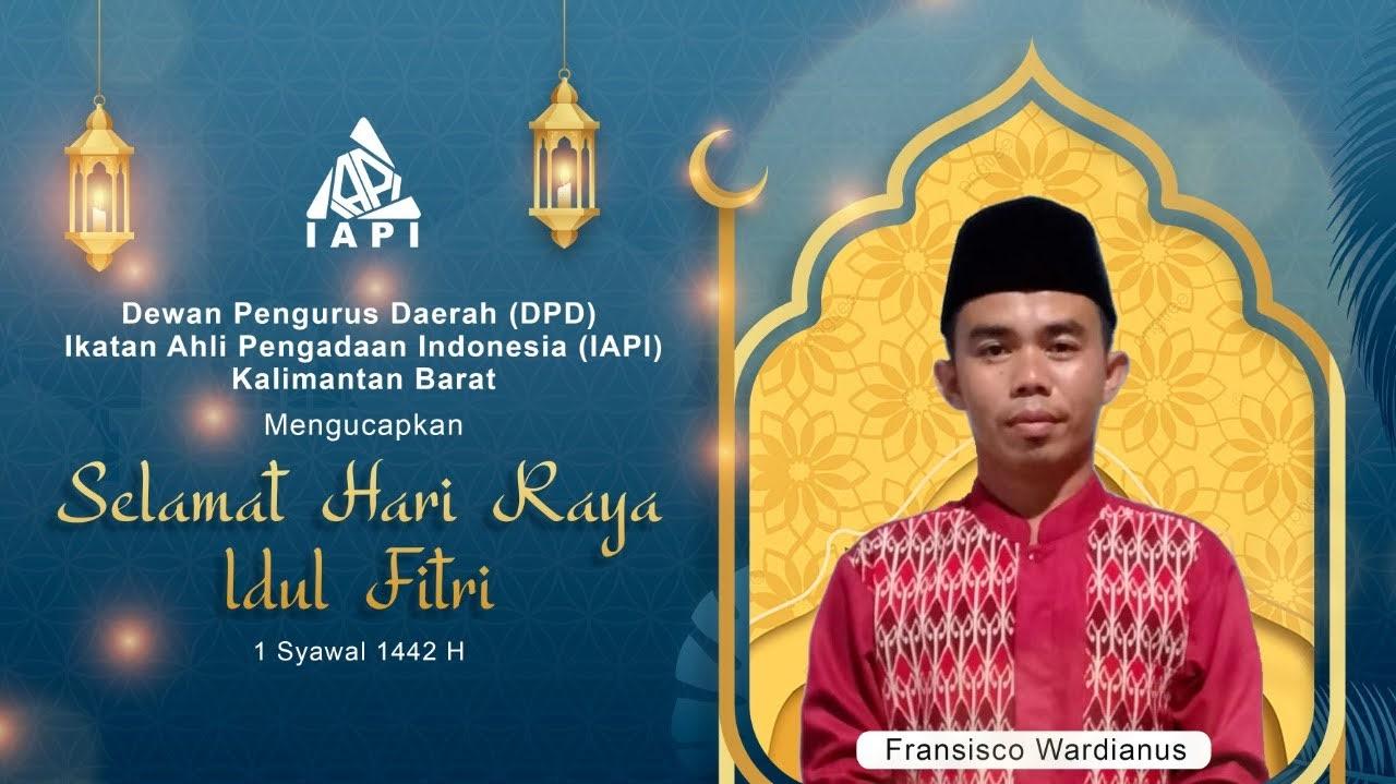 DPD IAPI Mengucapkan Selamat Idul Fitri 1442 H