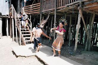 Photo: Iban à Batang Ai Sarawak