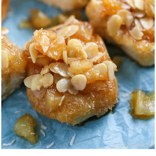 Pineapple Sticky Buns with Coconut Caramel
