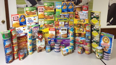 Photo: Health Alliance Hospital's Occupational Therapy & Outpatient Clinics Food Donation.
