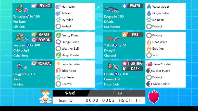 Pokémon Sword e Shield Rental Teams