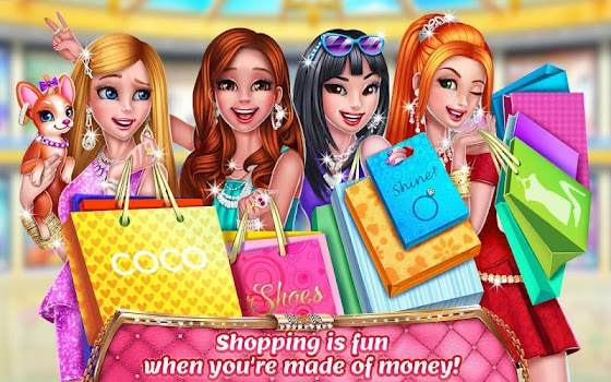 Rich Girl Mall - Shopping Game