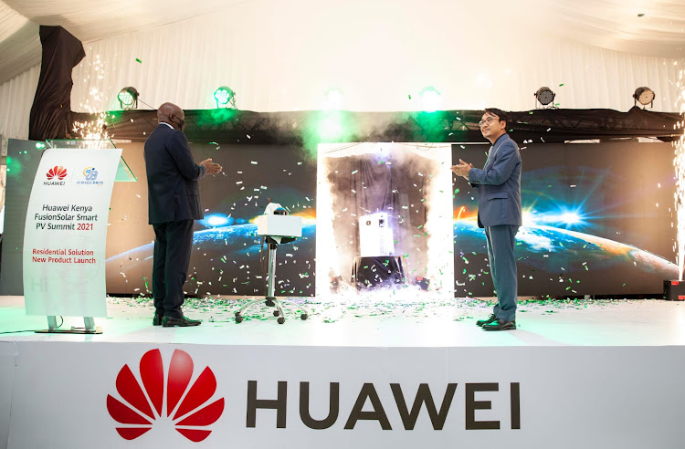 Huawei FusionSolar, the Smart PV solution from Huawei, is introducing its complete integrated system for residential solar energy solution at its launch event in Nairobi.