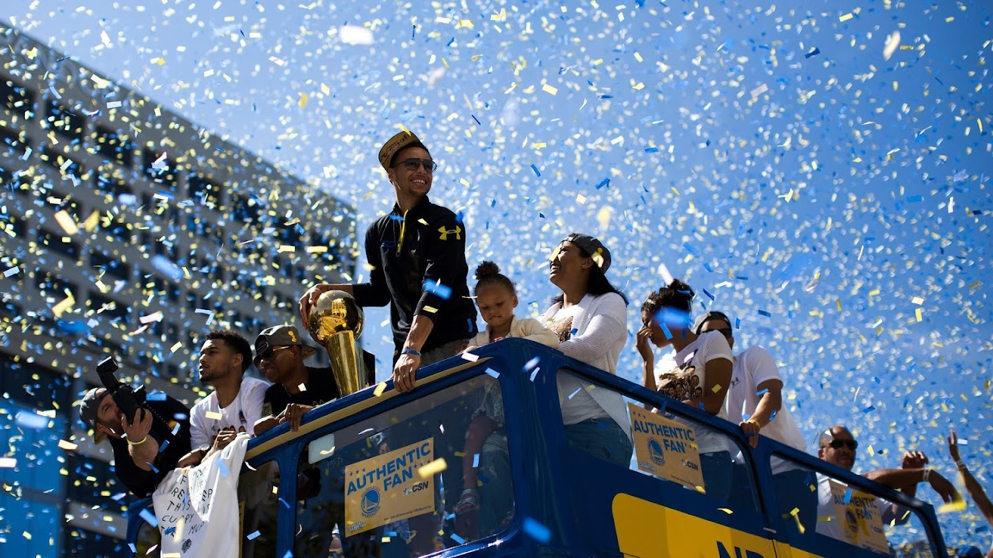 Watch Golden State Warriors 2018 Championship Parade live