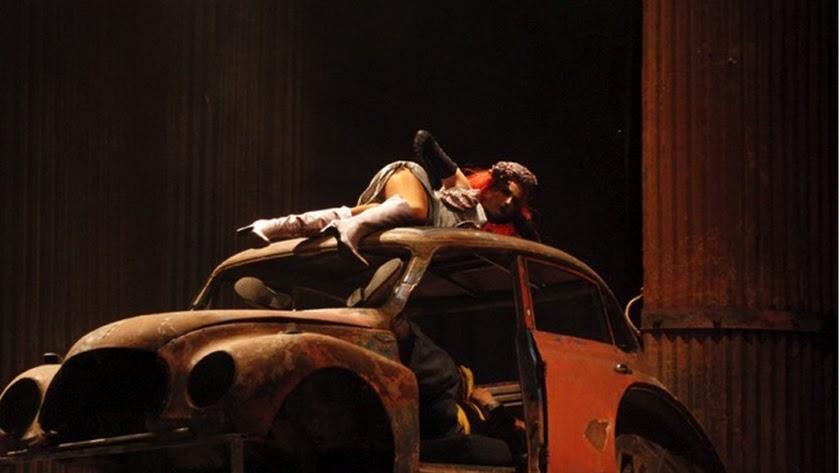 Escenografía creada por Torres, cuyo trabajo ha sido reconocido en los Premios Florencio Sánchez.