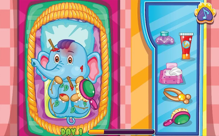 android Pets Clinic - Kids Doctor game Screenshot 2