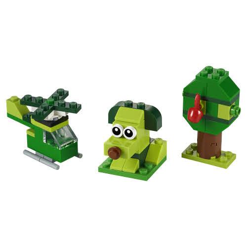Contenido de Lego® 11007 Ladrillos Creativos Verdes