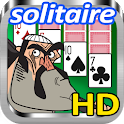 Play Alone: Solitaire Toon HD icon