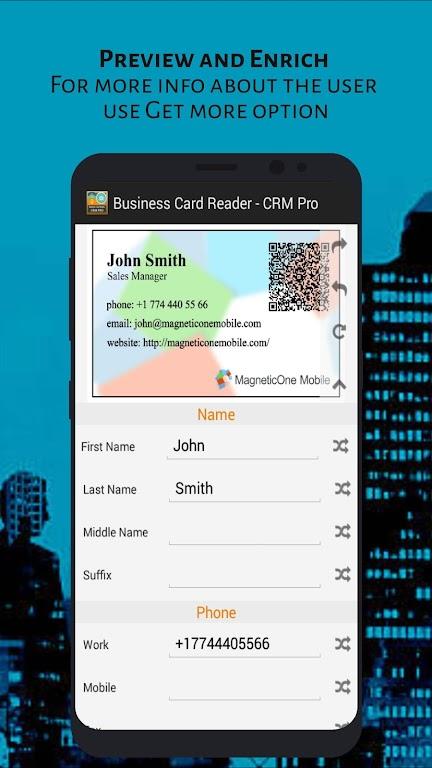 Business Card Reader - CRM Pro poster 4
