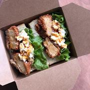 Teriyaki Karaage Sandwich