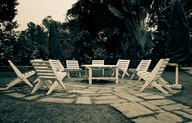 Photo: I have a thing for chairs, empty chairs.