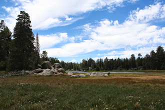 Photo: Bluff Lake - the only natural lake in Big Bear: endangered wildlife live on it si we leave a soft footprint on our land by only kayaking in this natural lake