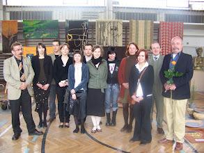 Photo: Dyplomanci 2007 kl. 4 B ceramicy, gr. 1