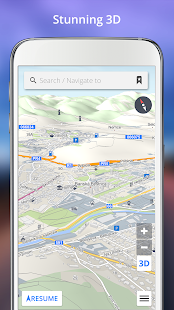 GPS Navigation BE-ON-ROAD- screenshot thumbnail