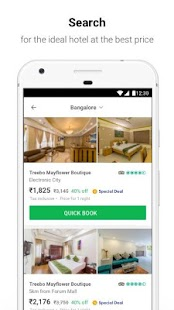 Treebo – Hotel Booking App - náhled