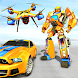 ドローンロボットカーゲーム-ロボット変換ゲーム