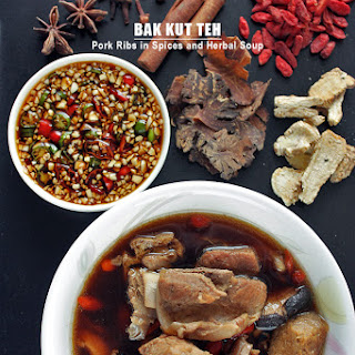 Bak Kut Teh - Pork Ribs in Spices and Herbal Soup.