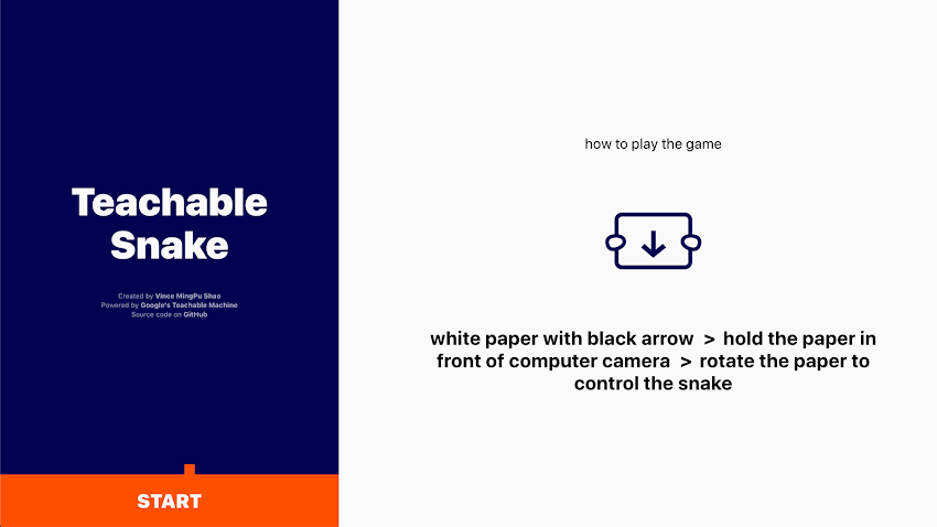 Teachable Snake by Vince MingPu Shao | Experiments with Google