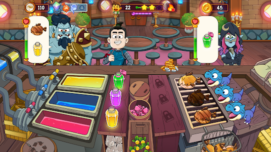 Potion Punch 2: Fantasy Cooking Adventures Apk Mod (Dinheiro Infinito) 8
