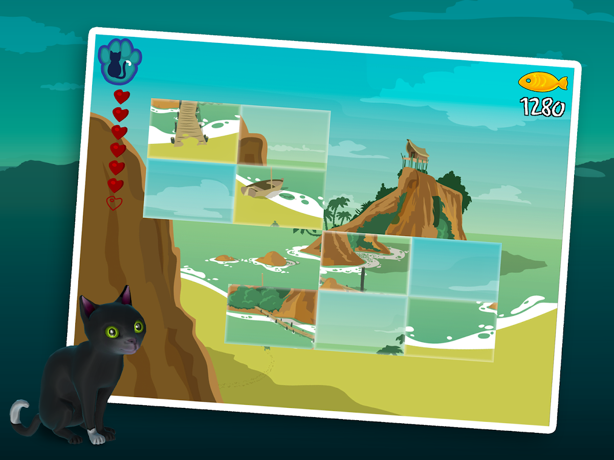 CAT trip: Treasure Island Lite- screenshot