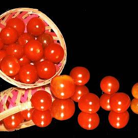 TOMATOES by SANGEETA MENA  - Food & Drink Fruits & Vegetables (  )